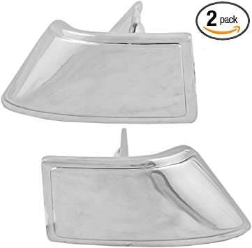 80-96 Ford Truck Front Outside Door Handle Chrome Pair Set Both