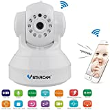 Cdycam 720P HD Wireless Network IP Camera, Security Surveillance, Baby Monitor with Night Vision, Two-way Audio, Video Record and IR Cut for Android, IOS, Windows PC System