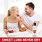 Climax Strawberry Flavored Water Based Lube-4 oz
