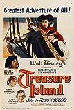 Treasure Island Movie Poster (27 x 40 Inches - 69cm x 102cm) (1950) Style B -(Bobby Driscoll)(Robert Newton)(Basil Sydney)(Walter Fitzgerald)(Denis O'Dea)(Ralph Truman)