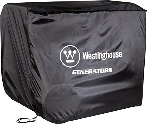 (Westinghouse WGen Generator Cover - Universal Fit - For Westinghouse Portable Generators Up to 7500 Rated Watts)
