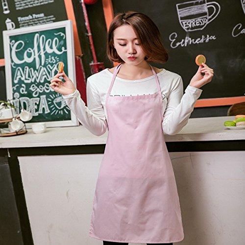 Ahatech rosa delantal de para mujer cocina 87g8x4zw