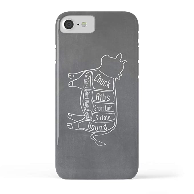 Amazon Society6 Iphone 8 Cases Featuring Beef Butcher Diagram