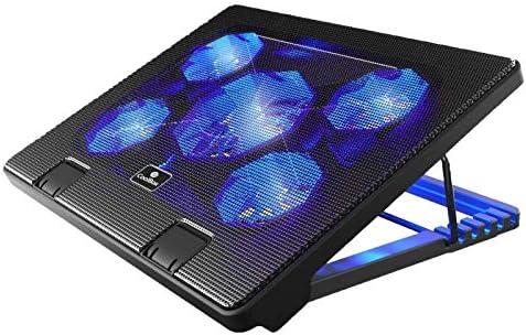 CoolBox Base refrigeradora para portátiles COO-NCP17-5BL ...