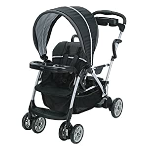 Graco Roomfor2 Click Connect Stand and Ride Stroller, Gotham, One Size