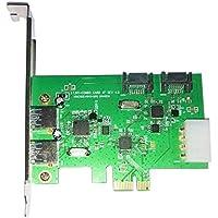 WBTUO LT301 Desktop PCI-E 2-Port USB 3.0 + 2-Port SATA 3.0 Expansion Card
