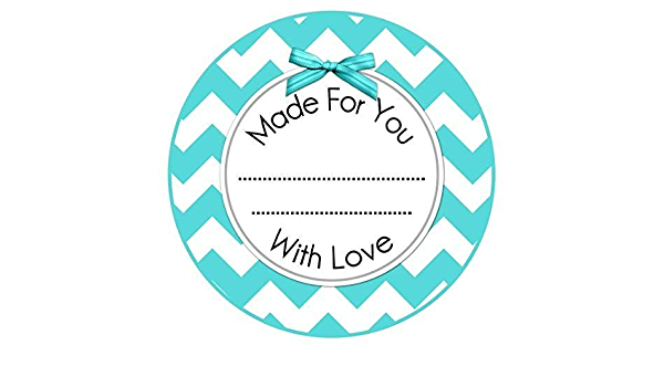 Handmade Labels From the Kitchen Stickers Canning Labels 36 count Made With Love Labels Floral Wreath Stickers