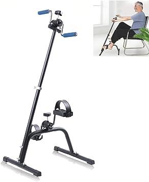 Pedal Exerciser, ajuste ajustable sentarse brazo pierna ejercicio ...