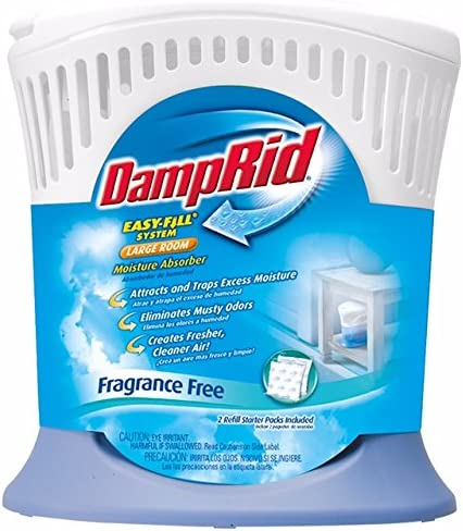 Large Room Damp Rid FG90 Moisture Absorber Easy-Fill System