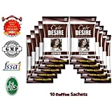 Cafe Desire Instant Coffee Premix, 10 Sachets x 15 g