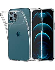 Spigen [Liquid Crystal] Designed for iPhone 12 Pro Max Case Cover 6.7 inch (2020) - Crystal Clear