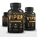 Best Fat Burner – Thermogenic Fat Burning Supplement for Men and Women – VIPER by Neovicta – Weight Loss Solution Containing Green Tea, Raspberry Ketones & Yohimbe – 2 Month Supply