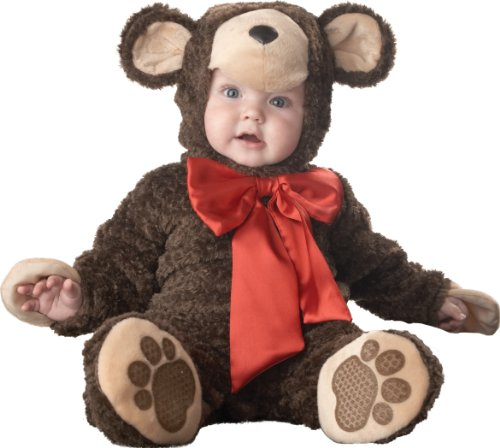 InCharacter Costumes Baby's Lil' Teddy Bear Costume, Brown, Small