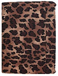 Koda Case for iPad 2/3/4 with Microfiber Cloth & Bling Loop: Wildside Collection, Color - Leopard