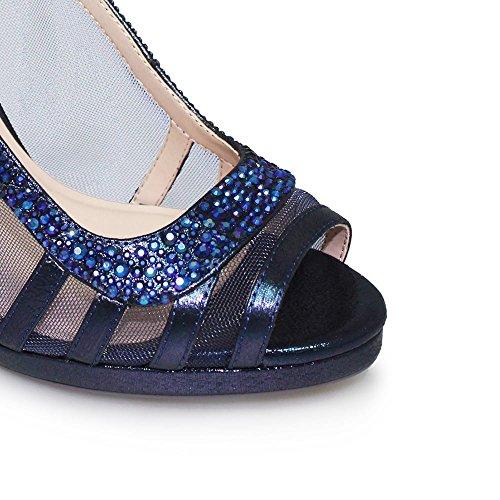 pour Marine Sandales Lunar femme Bleu qw5wPRz