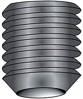 product image for Holo-Krome 32072, 8-32x3/16 Cup Point Socket Set Screw, Steel, Black Oxide, UNC, 100/Pk