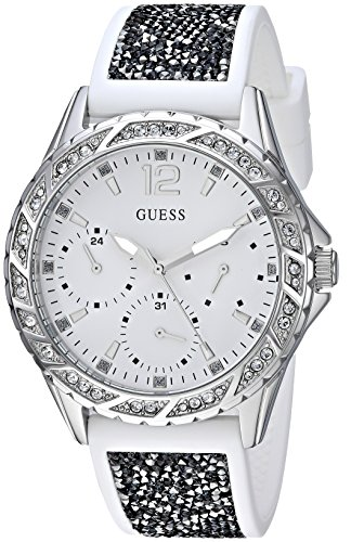 GUESS Women's Stainless Steel Japanese-Quartz Watch for sale  Delivered anywhere in Canada