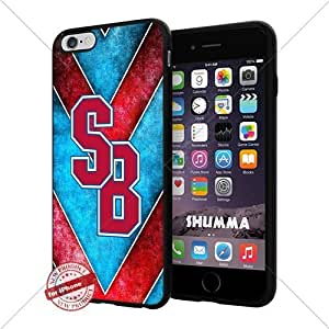 """NCAA St. Peters Peacocks Cool iPhone 6 Plus (6+ , 5.5"""") Smartphone Case Cover Collector iphone TPU Rubber Case Black"""