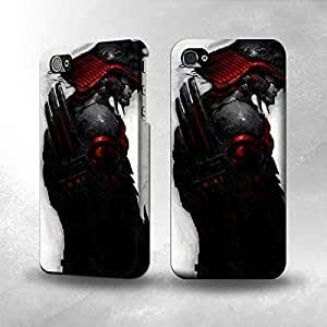 Apple iPhone 4 / 4S Case - The Best 3D Full Wrap iPhone Case - Dark Samurai