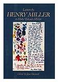 Letters by Henry Miller to Hoki Tokuda Miller, Henry Miller, 0881910384