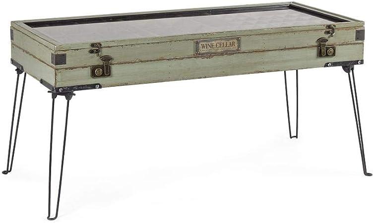 ARREDinITALY - Mesa expositora de 134 x 67 cm, Estructura de ...