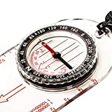 Magnos Somnia Small and Light Multipurpose Magnetic Compass Easiest Camping, Hiking and Outdoor Compass
