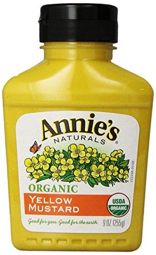 - Annie's Organic Yellow Mustard  9 oz Bottle
