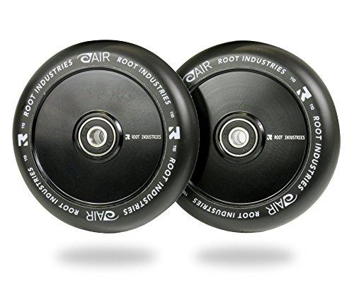 Root Industries 110mm AIR Wheels - (Pair) (Black/Black) by Root Industries (Image #3)