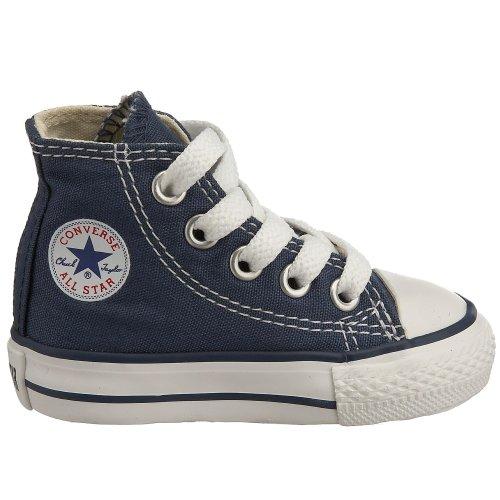 Converse Chuck Taylor All Star Core Hi Zapatillas de tela, Unisex - Infantil Marino