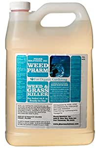 Pharm Solutions WP00011 Weed Pharm Organic Herbicide, Clear