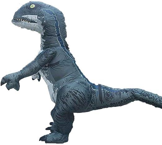 Disfraz hinchable de dinosaurio de Halloween, traje de disfraz de ...