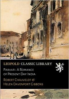 Book Parvati. A Romance of Present Day India