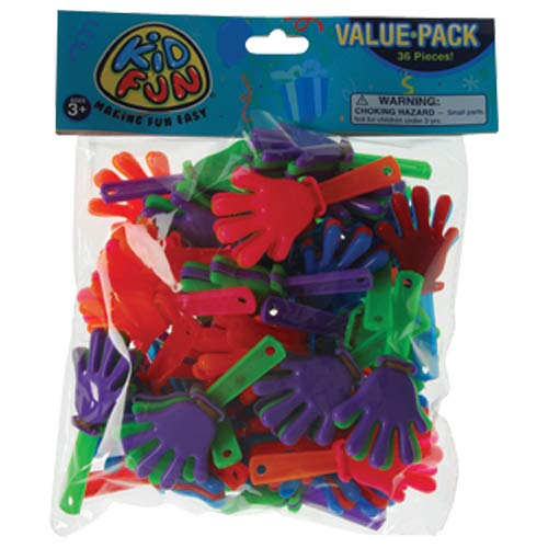 DollarItemDirect Mini Hand CLAPPERS-36 PCS , Sold by 11 Packs
