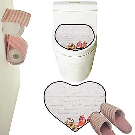 Alfombra de baño de Microfibra con diseño de símbolo de tráfico ...