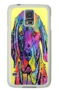 fixate labrador Custom Samsung Galaxy S5/Samsung S5 Case Cover Polycarbonate White