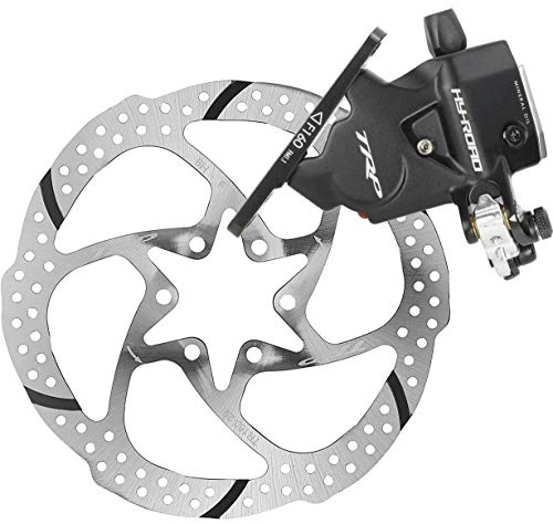 TRP HY/RD Flat Mount Road Bike Hydraulic Disc Brake Caliper Rotor Rear 160mm