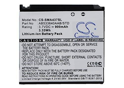 Phone A437 (Xsplendor 900mAh Battery Compatible with Samsung SGH-A436 SGH-A437 SGH-A717 SGH-A747 SGH-A747 SLM)