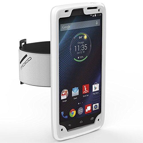Armband MoKo Silicone Motorola Smartphone