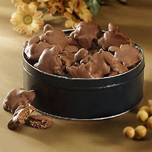 Chocolate Turtles Gift Tin - 23 Ozs. SCS