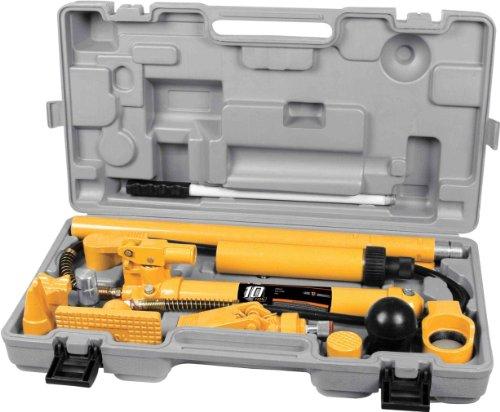 (Performance Tool W1651 Porta Power Hydraulic Collision Repair Kit 10 Ton Multi-Power Set)