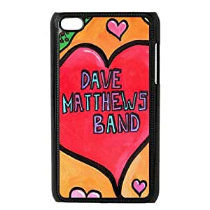 Customize Generic Hard Plastic Shell Phone Cover Dave Matthews Back Case Suitable For iPod 4 Touch 4th Generation