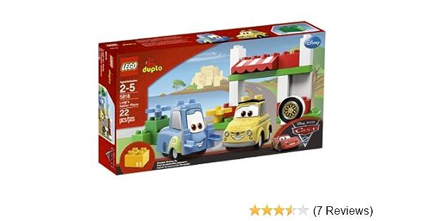 Amazoncom Lego Cars Luigis Italian Place 5818 Toys Games