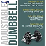 Yes4All Adjustable Dumbbells 40, 50, 52.5, 60, 105