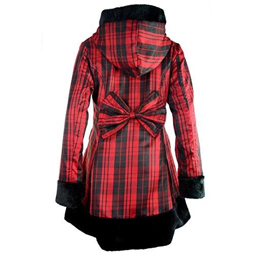 Vixxsin - Abrigo - para mujer Red Check