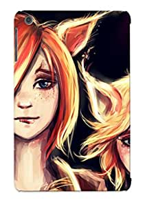 Awesome RMmTD0nVilt Flyinghouse Defender Tpu Hard Case Cover For Ipad Mini/mini 2- Painting Art Face Girls Fantasy