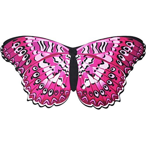 Flying Childhood Fairy Butterfly Wings for Toddler Girls Dreamy Princess Costume Animal Dress up- Pretend Party Favors]()