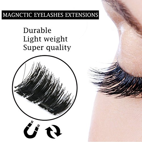 Magnetic-Eyelashes-ESARORA-Best-Fake-Magnetic-Eyelashes-One-Pair-4-PCS-Fake-Mink-Lashes-for-a-Natural-Look--Reusable-Extensions-with-No-Glue-Needed