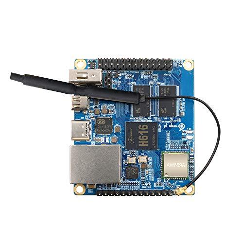 Orange Pi Zero 2 512MB/1GB H616 Quad Core Open-Source Mini Board,Support 1000M Ethernet Port and WiFi, BT5.0, Android10, Ubuntu, Debian (OPI Zero 2 1GB)