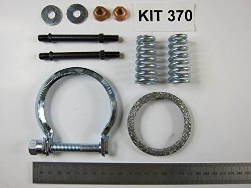 RE6014 EEC Exhaust Catalytic Converter with fitting kit: