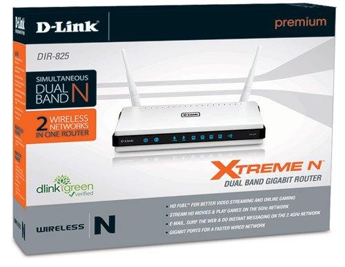 DLINK DIR-825 Xtreme N Dual Band Gigabit Router Driver FREE